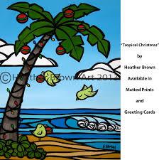 blog tropical hawaiian surf art by heather brown