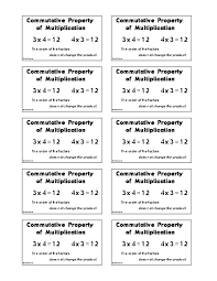 multiplication math vocabulary trading cards math games and