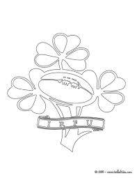 ireland rugby team irfu coloring pages hellokids com
