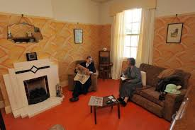 1930 home interior 1930s domestic rooms black country living museum
