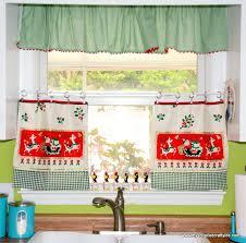 window treatments vintage tea towel curtains my so