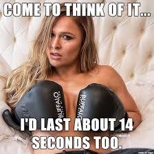 Nude Memes - rousey is arousing meme on imgur