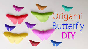 origami butterfly diy how to make a paper butterfly 3d room