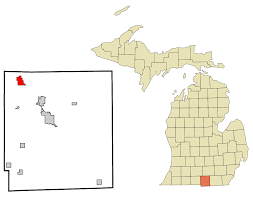 List Of Cities Villages And Townships In Michigan Wikipedia by Litchfield Michigan Wikipedia