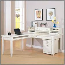 Office Depot L Desk Desk Altra Pursuit White L Desk With Hutch Office Set L Shaped