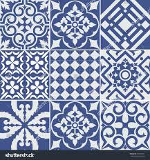 vector set tiles background wallpaper backgrounds stock vector