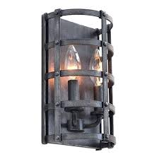 Two Light Wall Sconce Rustic Wall Sconces Holidaysale Club