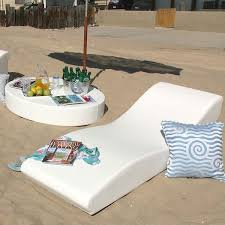 In Pool Chaise Lounge The Surf Chaise Lounge Contemporary Patio Chicago By Home