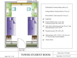 Student Desk Dimensions by Theophilus Tower