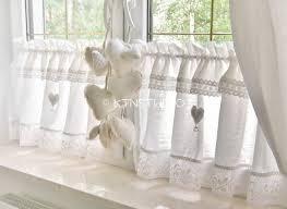 Shabby Chic Valance by Curtain Shabby Chic Valance Rare Kitchen Curtains Vintage
