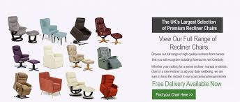 Armchairs Uk Only Recliners Direct Premier Uk Reclining Chair Specialist Online