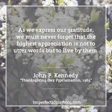 thanksgiving day quote quotes u2013 the imperfectionist