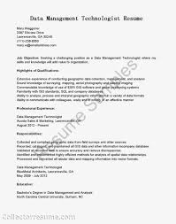 Marketing Specialist Resume Sample by Data Management Specialist Resume Youtuf Com