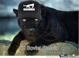 Puma Meme - in soviet russia puma wears you by nukibara meme center