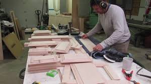 wood working kitchen cabinets part 2 youtube