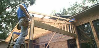 building a roof over a patio