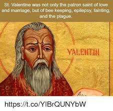 St Valentine Meme - st valentine was not only the patron saint of love and marriage