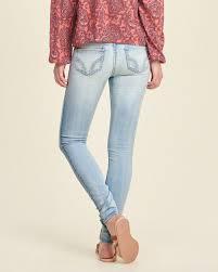 hollister light wash jeans promotions hollister jean leggings jeans women light wash effect