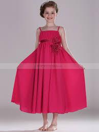Draped Bodice Dress Spaghetti Strap Draped Bodice Flowing Satin Chiffon Flower