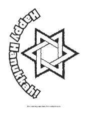 hanukkah coloring page hanukkah coloring page happy hanukkah with star of david