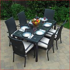 outdoor furniture wrought iron dining sets elegant stunning design