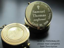 Baptism Engraved Gifts Engraved Compass Engraving Included Baptism Boy Gift