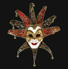jester mask joker reale by carta alta venice italy carnival