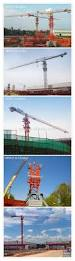 china self erecting flat top tower crane supplier with ce