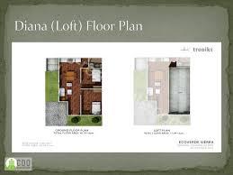 Plan De Loft Diana Loft End Unit Ecoverde Sierra Cdo Real Estate