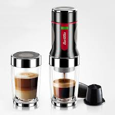 Hand Press Portable Coffee Maker Mini Handheld Espresso Capsule