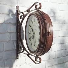 Garden Wall Clocks by Buy Garden Terrace Clock 3 Year Product Guarantee