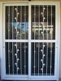 Patio Screen Doors Sliding Glass Door Security Screen Security Door Ideas