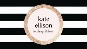 beauty salon business cards girly hair salon business cards page 1