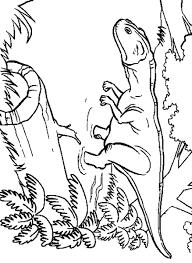 juradistic park coloring pages