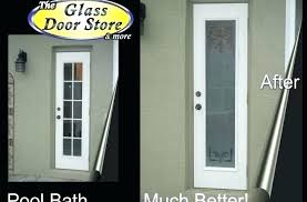 Etched Glass Exterior Doors Frosted Glass Exterior Doors Roya Me