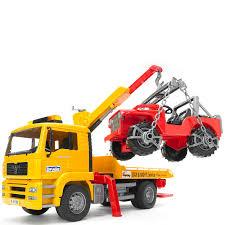 bruder fire truck bruder 02750 man tga tow truck bruder mytoys com