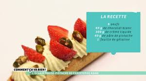 christophe cuisine l éclair fraise pistache christophe adam yeni ürün