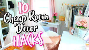 how to decorate rooms 10 cheap life hacks to decorate your room belinda selene youtube