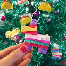 mini pinata ornaments mini piñata mexican fiesta christmas