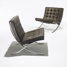 Barcelona Chairs For Sale Barcelona Chair Replica Best Stainless Steel Frame Legs Of