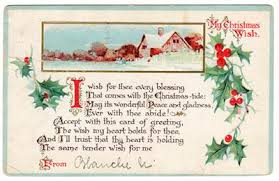 christmas postcard christmas postcard from blanche 1915