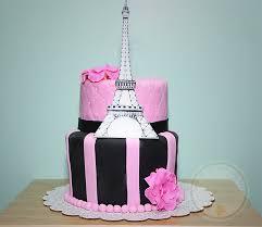 pretty 3 dimensional cakes paris eiffel tower birthday cake