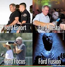 Ford Focus Meme - harrison ford ecort fiesta focus fusion funny meme pics