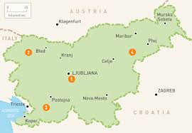 Us Regions Map Map Of Slovenia Slovenia Regions Rough Guides Rough Guides
