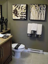 white bathroom with color accents new best black and white realie