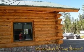 16x20 log cabin meadowlark log homes hart s content log lodge meadowlark log homes