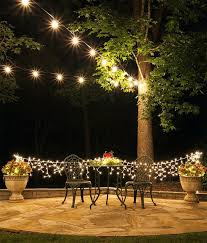 Outdoor Patio Lights Ideas Mesmerizing Outdoor Patio Lights Stringing Outdoor Patio Lights