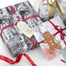 personalized wrapping paper personalised wrapping paper print your christmas photo gift wrap