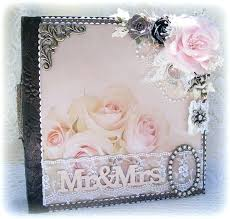 Bridal Shower Photo Album Scrapbook Pink Bridal Shower Glitter Album 12 12 Albums