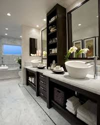 Bathroom Sink And Cabinet Combo Bathroom Sink Cabinet Combo With Contemporary Tile Backsplash